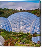 Eden Project Biomes Canvas Print