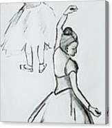 Edgar's Dancers Canvas Print