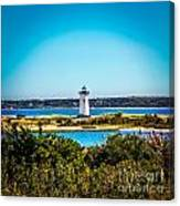 Edgartown Lighthouse Canvas Print
