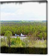 Edge Of Mississippi River Canvas Print