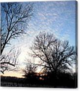 Reduced  Edge Of Morning Canvas Print