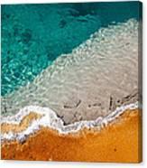 Edge Of The Pool Canvas Print
