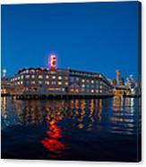 Edgewater The Big Red E Canvas Print