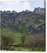 Edinburgh Castle - Scotland  Canvas Print