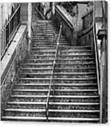 Edinburgh Steps Canvas Print