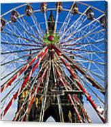Edinburgh's Christmas Ferris Wheel Canvas Print