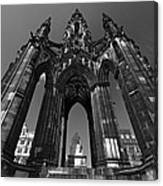 Edinburgh's Scott Monument Canvas Print