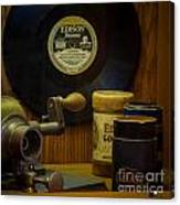 Edison Record And Equipment Canvas Print