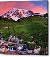 Edith Creek Sunrise Canvas Print