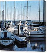 Edmonds Yacht Club Canvas Print