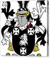 Edney Coat Of Arms Irish Canvas Print