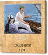 Edouard Manet 4 Canvas Print