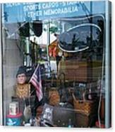 Ed's Collectables Window Display Canvas Print