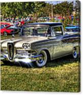 Edsel Ranchero Canvas Print