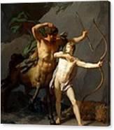 Education Of Achilles Canvas Print