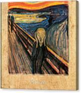 Edvard Munch 1 Canvas Print