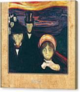 Edvard Munch 2 Canvas Print