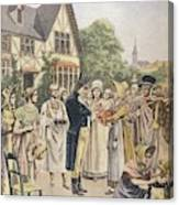 Edward Jenner Carries Out His First Canvas Print