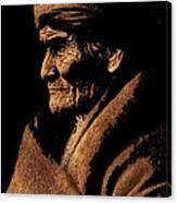 Edward S. Curtis Photograph Of Geronimo Carlisle Pennsylvania 1905-2013 Canvas Print
