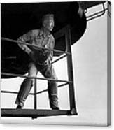 Edward Steichen, Joined The U.s. Navy Canvas Print