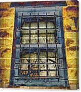 Eerie Window Canvas Print