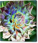 Eerily Beauty Canvas Print