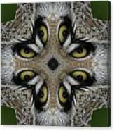 Eery Eyes - 1 Canvas Print