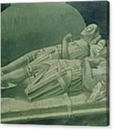 Effigies, Winchelsea Church Canvas Print