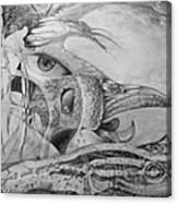 Ego-bird-fish Nesting Ground Canvas Print