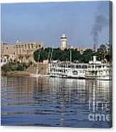 Egypt - Nile Steamboat Canvas Print