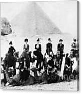 Egypt C1895 Canvas Print