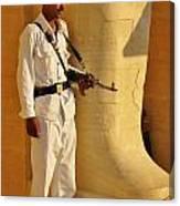 Egypt Tourist Security Canvas Print