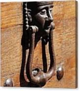 Egyptian Door Knocker Canvas Print