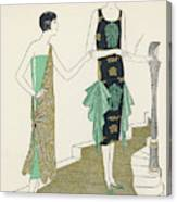 Egyptian Influence Canvas Print