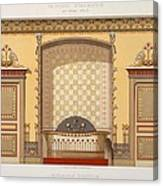 Egyptian Interior , From Interior Canvas Print