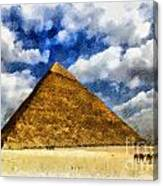 Egyptian Pyramid Canvas Print