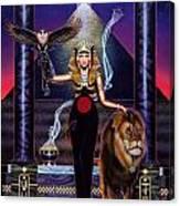Egyptian Queen Canvas Print