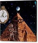 Egyptian Temple Canvas Print