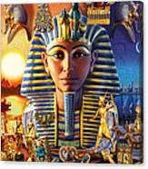 Egyptian Treasures II Canvas Print