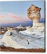Egytians White Desert Canvas Print