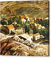 Ehden Lebanon Canvas Print