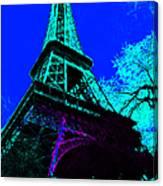 Eiffel 20130115v4 Canvas Print