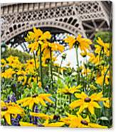 Eiffel Flower Canvas Print