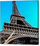 Eiffel In Spring Canvas Print