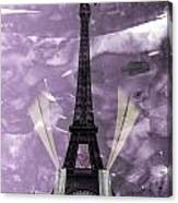 Eiffel Tower - Paris - Love Canvas Print