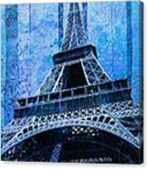 Eiffel Tower 2 Canvas Print