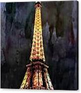 Eiffel Tower-3 Canvas Print