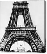 Eiffel Tower Construction Canvas Print