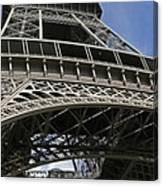 Eiffel Tower First Balcony Canvas Print