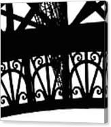 Eiffel Tower Girders Canvas Print
